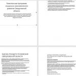Иллюстрация №1: Стратегия социально-экономического развития Свердловской области до 2025 г. (Курсовые работы - Экономика).