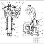 Иллюстрация №1: Организация участка по ремонту и техническому обслуживанию передней подвески и рулевого управления легковых автомобилей (ВАЗ-2107) (Дипломные работы - Транспортные средства).