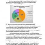 Иллюстрация №5: Особенности и проблемы перевода спортивной и футбольной терминологии (с презентацией) (Дипломные работы, Презентации - Языкознание и филология).
