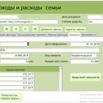 Иллюстрация №3: База данных учета доходов и расходов «Семейный бюджет» (Дипломные работы - Базы данных, Информатика).