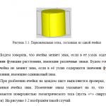 Иллюстрация №1: Задача вычисление объемной доли геометрического тела в регулярной сетке с помощью поля расстояний (Дипломные работы, Решение задач - Информатика).