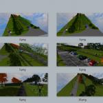 Иллюстрация №1: Благоустройство уличной территории (план таксации, план озеленения и 3D-визуализация) (Дипломные работы - Экология).