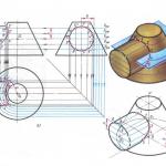 Иллюстрация №1: Книга по черчению (Шпаргалки - Технологические машины и оборудование).