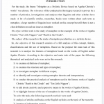 Иллюстрация №4: Metaphor as a stylistic device based on Agatha Christie's works (Дипломные работы - Английский язык).