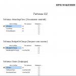 Иллюстрация №3: Проектирование и разработка базы данных учета студентов (Курсовые работы - Базы данных, Документоведение и архивоведение).