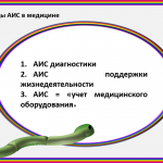 Иллюстрация №4: Анимированная презентация. Автоматизированные информационные системы (АИС) в медицине (Презентации - Информатика).