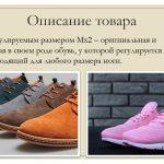 Иллюстрация №2: Разработка, создание товара рыночной новизны — обувь с регулируемым размером (Презентации - Маркетинг).