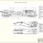 Иллюстрация №6: Комплексная механизация капитального ремонта бесстыкового ж.д.пути с применением железнодорожностроительной машины СЗП-600 (Дипломные работы - Железнодорожный транспорт).
